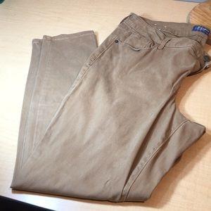Rockstar high Khaki tan stretch skinny jeans pants